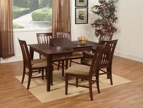 Atlantic Furniture SHAKER4278BTDTES