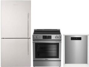 3-Piece Kitchen Package with BRFB1812SSLN 30