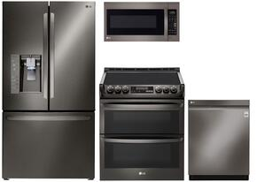 Lg 974158 4 Piece Black Stainless Steel Kitchen Appliances Package