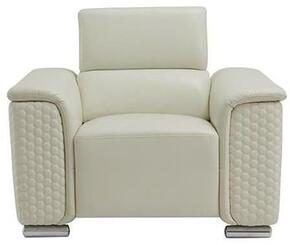 Global Furniture USA U9460BLANCHEWHITECH