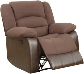 Global Furniture U98243D128CHOCOLATEPUR