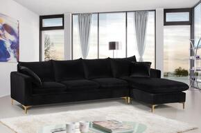 Meridian 636BLACKSSECTIONAL