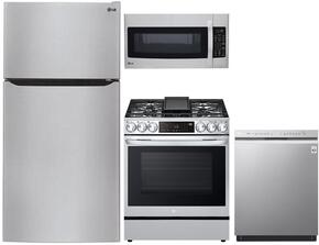 4-Piece Stainless Steel Kitchen Package With LTCS24223S 33