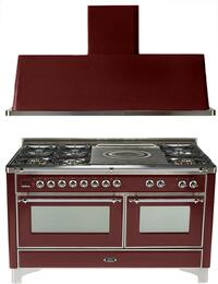 2-Piece Burgundy Kitchen Package with UM150SDMPRBY 60