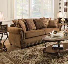 Simmons Upholstery 811504QEOUTBACKCHOCOLATE
