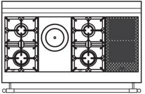 120 US ED Cooktop Configuration w...