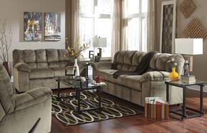Leilani Collection MI-1429SLR-DUNE 3-Piece Living Room Set with Sofa, Loveseat and Recliner in Dune