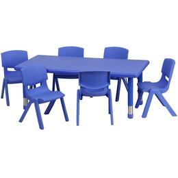 Flash Furniture YUYCX00132RECTTBLBLUEEGG