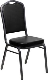 Flash Furniture FDC01SILVERVEINBKVYGG