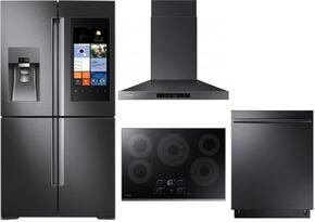 Samsung Appliance SAM4PCFSFDFIWMKIT1