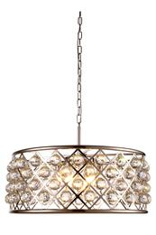 Elegant Lighting 1214D25PNRC