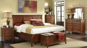 WSLCB5191K4P Westlake 4-Piece Bedroom Set with King Sized Storage Bed, Dresser, Mirror and Single Nightstand