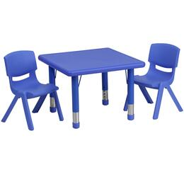 Flash Furniture YUYCX00232SQRTBLBLUERGG