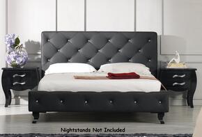 VIG Furniture VGKCMONTEBLKEK