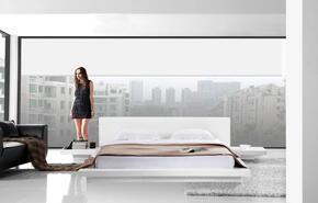 VIG Furniture VGKCOPALQWHT