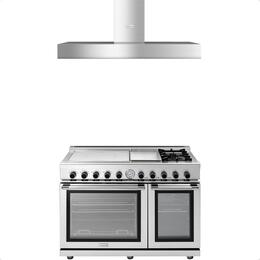 2-Piece Stainless Steel Kitchen Package with RN483GPSS 48