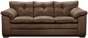 Simmons Upholstery 656503LUNACHOCOLATE