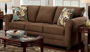 3250-SL-CF Verona 2 Piece Essex Living Room Set, Sofa + Loveseat, in Council Fudge