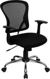 Flash Furniture H8369FBLKGG