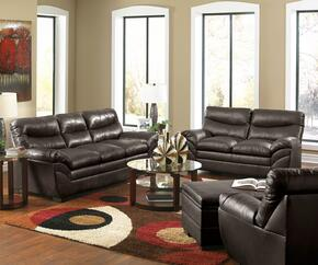 Soho 9515-030201095 4 Piece Set including Sofa, Loveseat, Chair and Ottoman with  Bonded Leather in Espresso