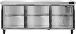 Continental Refrigerator SW72GD