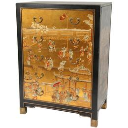 Oriental Furniture LQCAB4GLD