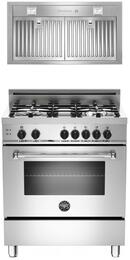 2-Piece Stainless Steel Kitchen Package With MAS304GASXE 30