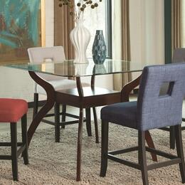 Andenne Collection 1065XSET1 5-Piece Dining Room Set with Counter Height Table and 4 Counter Height Stool