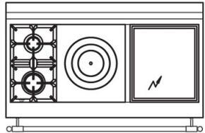 120 US E5 Cooktop Configuration w...
