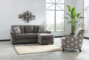 Brise Collection 84102SCAC 2-Piece Living Room Set with Sofa-Chasie and Accent Chair in Slate