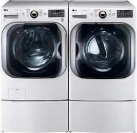 White Front Load Laundry Pair WM8100HWA 29