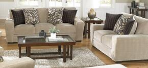 Prescott Collection 44872PCSTLKIT1P 2-Piece Living Room Sets with Stationary Sofa, and Loveseat in Putty