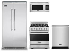 4-Piece Stainless Steel Kitchen Package with VCSB5423SS 36
