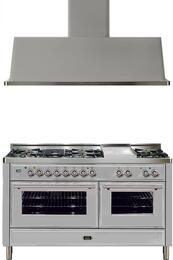 2-Piece Stainless Steel Kitchen Package with UMT150FDMPI 60