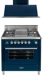 2-Piece Midnight Blue Kitchen Package with UMT90FDVGGBL 36