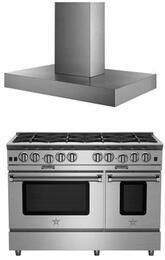 2-Piece Kitchen Package with BSP488BNG 48