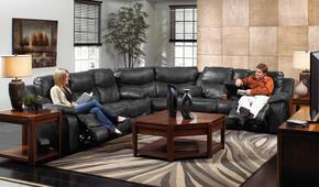 Catalina Collection 64311-1223-19/3023-19SECR 3 PC Living Room Set with Power Reclining Sofa + Loveseat + Wedge in Timber Color