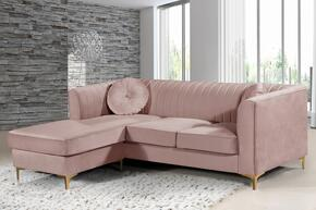 Meridian 660PinkSectional