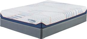 Chandley 8 Collection MF-102/210-T Set of Mattress and Foundation in Twin Size