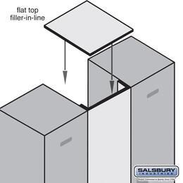 Salsbury Industries 33341BLK