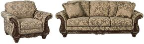 Irwindale Collection 88404SC 2-Piece Living Room Set with Sofa and Living Room Chair in Topaz
