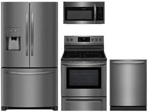 4-Piece Black Stainless Steel Kitchen Package With FFHB2750TD 36