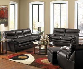 Soho 9515-030201095  4 Piece Set including Sofa, Loveseat, Chair and Ottoman  with  Bonded Leather in Onyx