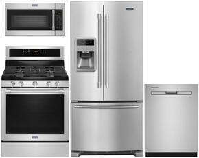 4 Piece Stainless Steel Kitchen Package with MFI2269FRZ 33