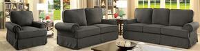 Furniture of America CM6376GYSFLVCH