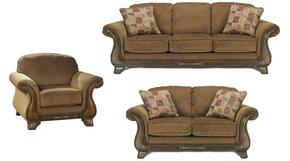 Matilda Collection MI-9918SLC-MOCH 3-Piece Living Room Set with Sofa, Loveseat and Living Room Chair in Mocha