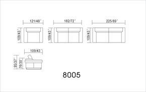 VIG Furniture VGEVSP8004
