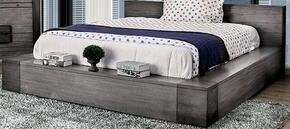Furniture of America CM7628GYQBED
