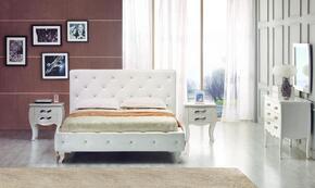VIG Furniture VGKCMONTEWHTF