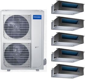 MRCOOL 1066841 Olympus Series 48000 BTU 5-Zone Mini Split System